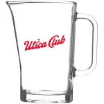 Logo Branded 37.25 Oz. Tableside Water Glass Pitcher