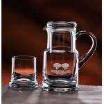 Custom Printed Executive Crystal Water Set