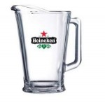 Logo Branded 60 Oz. Glass Pitcher