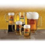 Logo Branded Glass Pitcher & Mug Set