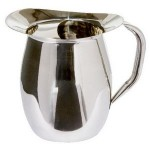 Promotional 2 Qt. 8 Oz. Bell Pitcher w/Ice Guard