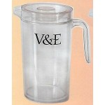 Custom Branded 66 Oz. Double Wall Plastic (Polystyrene) Pitcher