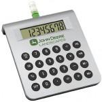 Water-Powered Desktop Calculator Logo Branded