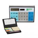 Solar Calculator w/ Sticky Notes Logo Branded