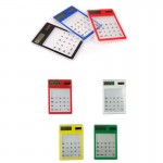 Touch -screen Solar-powered Calculator Logo Branded