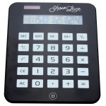 Giant Calculator Custom Printed