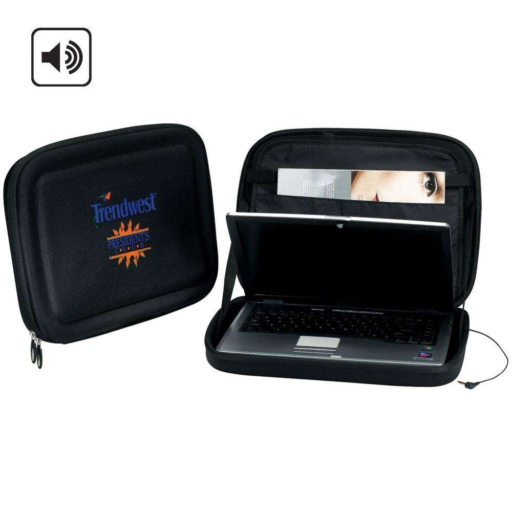 Custom Imprinted Secure Sound Computer Sleeve