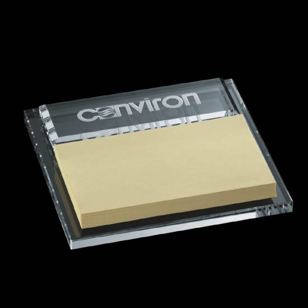 """Logo Branded Ericson Noteholder - 3""""x5"""" Notepad"""