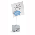 Custom Printed Dreams Cloud Magnet Note Holder