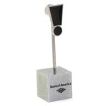 Exclamation Point Magnet Note Holder Custom Imprinted