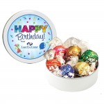 Logo Branded Swiss Chocolate Lindor Truffles (6 ea) - Petite Tin