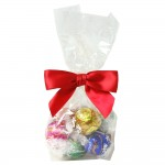 Mini Gourmet Gift Bags - Lindor Truffles (10 Truffles) Custom Imprinted