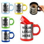 Auto Self Stirring Coffee Mug Custom Imprinted