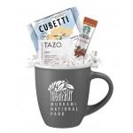 Tazo Tea, Starbucks Coffee & Cookie Gift Mug Logo Branded