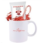 Holiday Peppermint Coffee Gift Mug Custom Printed