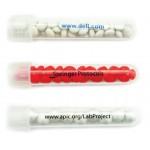 "Plastic Test Tube Filled w/ White Gourmet Mints (5/8""x3 7/8"") Custom Imprinted"