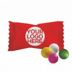 Logo Branded Assorted Pastel Chocolate Buttermints - Custom Wrapper