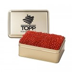 Custom Imprinted Small Rectangle Tin - Red Hots