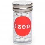 Small Tubes with Silver Cap - White Mints Logo Branded
