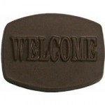 0.88Oz. Chocolate Welcome Barrel Logo Branded