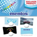 Custom Printed Individually Wrapped Mentos Mints