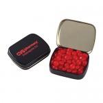 Small Hinged Tin - Red Hots Custom Printed