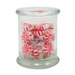 Status Glass Jar - Starlight Mints (12.5 Oz.) Logo Branded