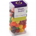 Logo Branded Medium Flip Top Candy Dispensers - Skittles