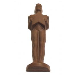 Promotional 5.92 Oz. Large Chocolate Statue Award