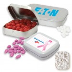 Logo Branded Pocket Tin Large- Mini Mints Candy by Color