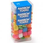 Logo Branded Medium Flip Top Candy Dispensers - Mini Gum