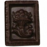 0.4 Oz. Chocolate Stamp Horn Of Plenty Logo Branded
