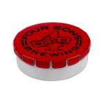 Snap Top Round Mint Custom Imprinted
