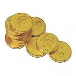 Stock Franklin & Liberty Chocolate Coins Custom Printed