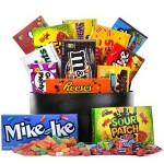 Custom Imprinted Sweet Snack Candy Basket