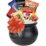 Halloween Candy Basket (Black) Custom Imprinted