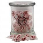 Jar w/Starlight Peppermints Custom Printed
