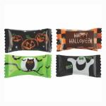 Hard Peppermint Balls in a Halloween Wrapper Custom Printed