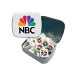 Custom Imprinted Small Tin with Printed Mints