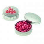 Logo Branded Mini Push Top Tin - Sugar Free Mini Mints