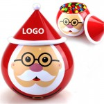 Christmas Candy Gift Can Logo Branded