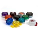Custom Imprinted Round Plastic Jar