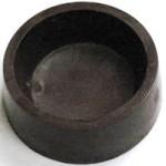5.6 Oz. Chocolate Candy Bowl Base - Round Medium Logo Branded