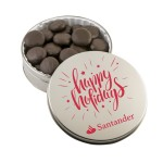 Logo Branded Glad Tidings Tin w/ Peppermint Cremes