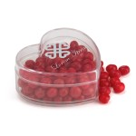 Heart Shaped Candy Container Custom Printed