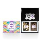 Logo Branded 2pc Bento Box Gift Set