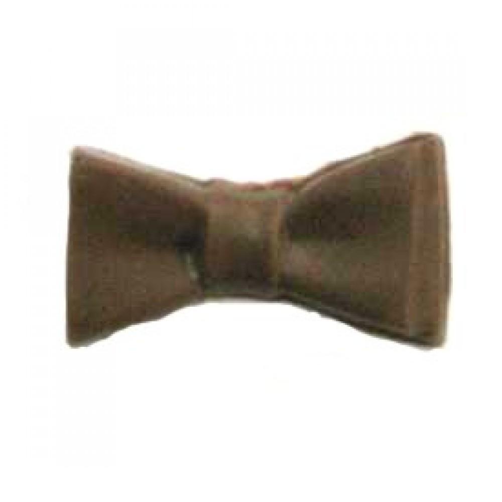 Logo Branded 0.16 Oz. Small Chocolate Bow Tie