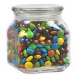 Custom Imprinted Contemporary Glass Jar - M&M's (20 Oz.)