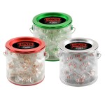 Logo Branded Tin Pail w/Starlight Mints