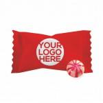 Hard Cinnamon Ball Candy - Custom Wrapper Logo Branded